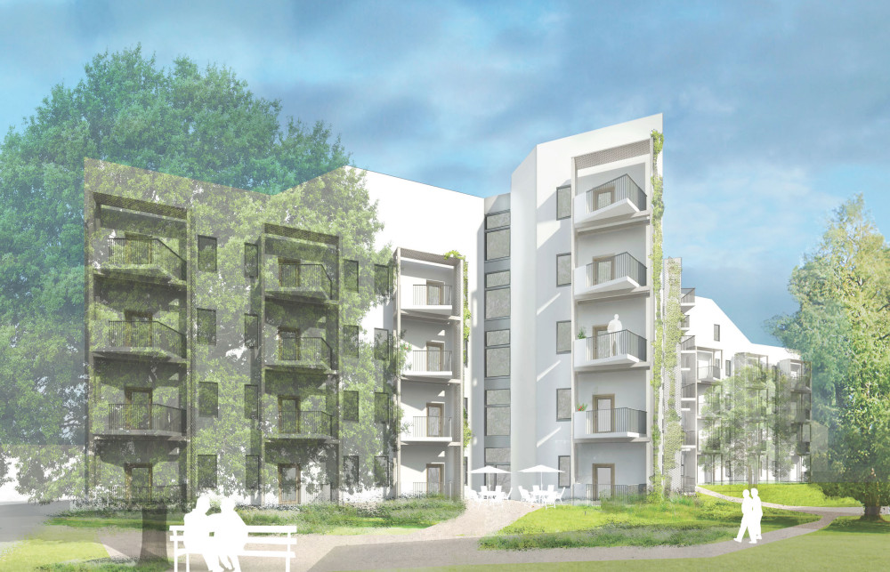 Passivhaus extra care, exeter