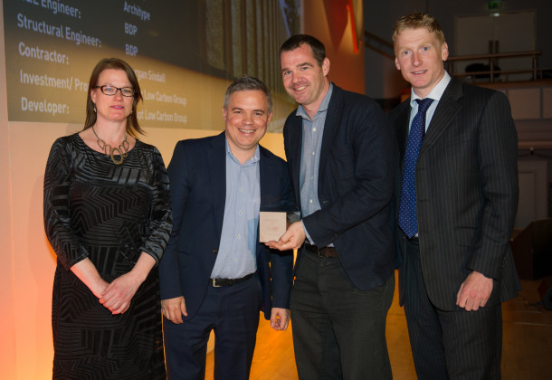 winners of the BCO award, Architype
