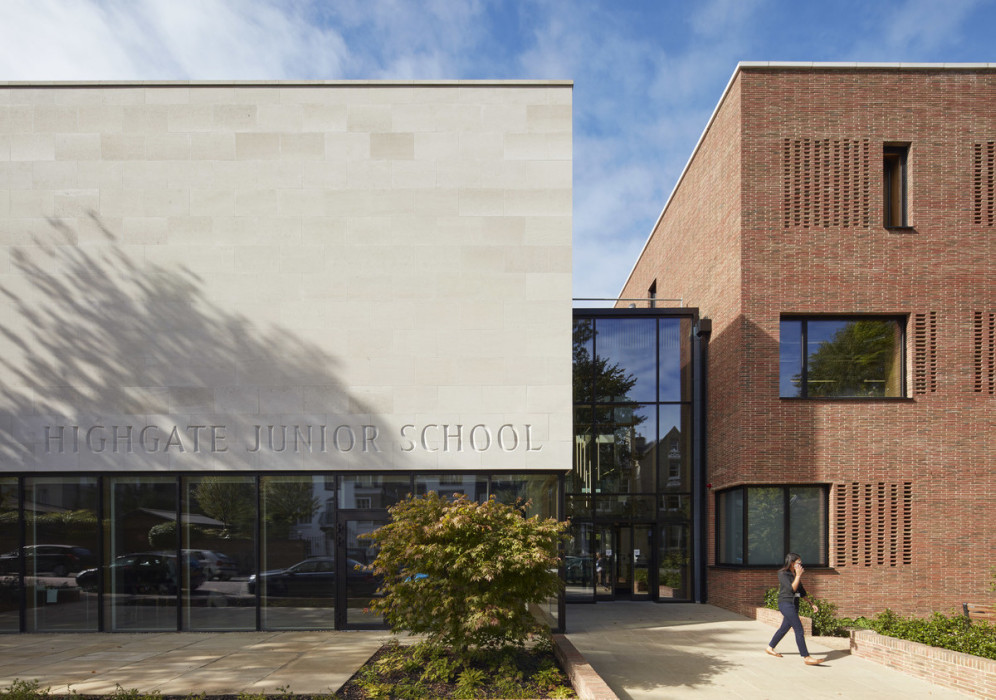 Entrance to Highgate Junior School