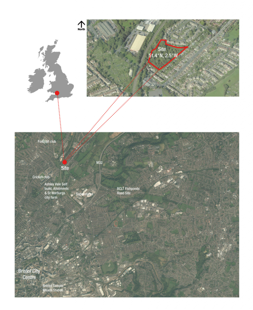 bristol site in context with city