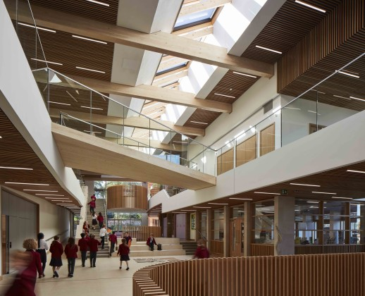 picture of central hub space at highgate junior school