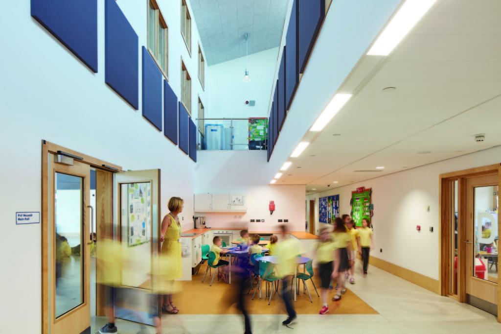 using the shared hub space