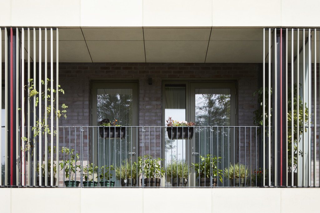 Photograph of individual balcony