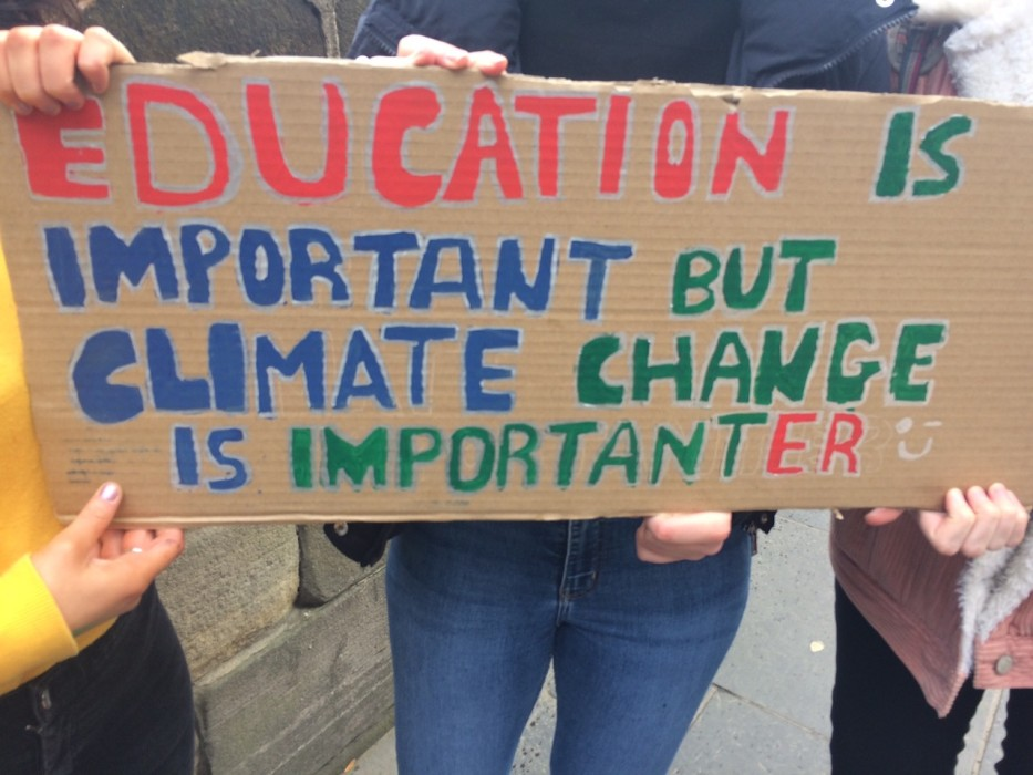 protest climate change