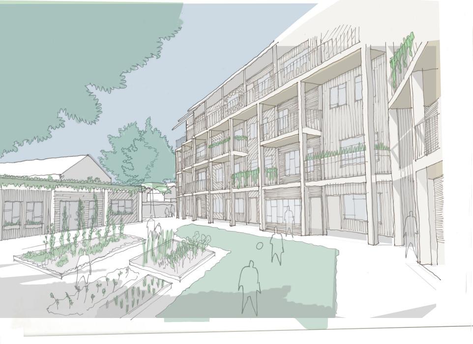 Architype Self Build Lewisham Proposals