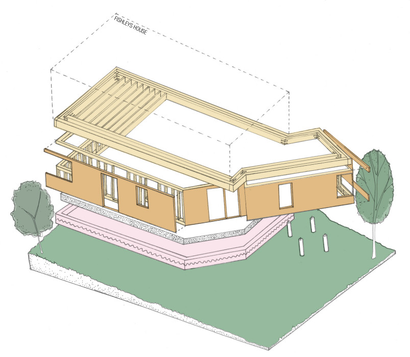 Passivhaus Residential drawing