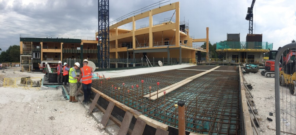 on site image