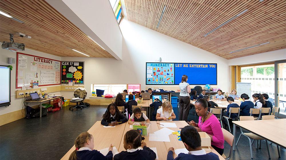 Architype St Luke S Ce Primary School The Uk S Leading